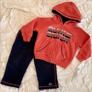 Quicksilver 🏄🏼♂️ Baby Hoodie & Pants Set 18M